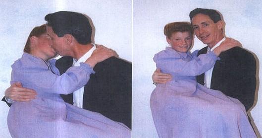 Warren Jeffs y su esposa de 12 años