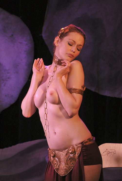 Princes Leia topless