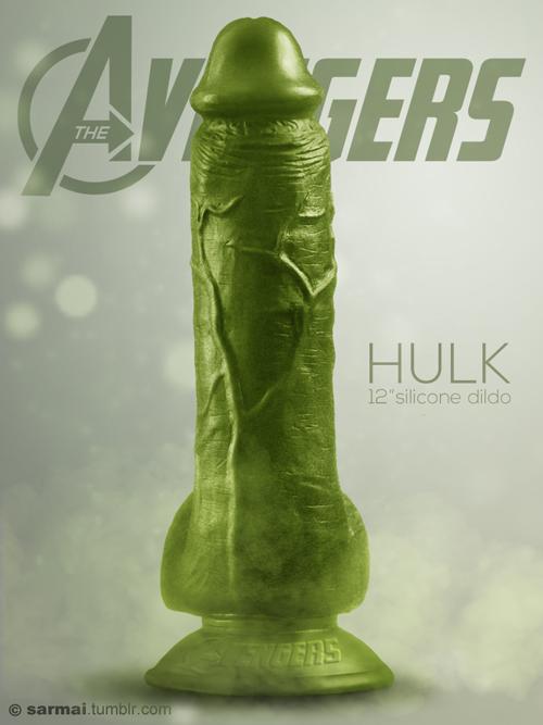 Avengers Dildo