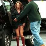 Jennifer Lopez sin bragas