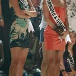 Trio con 2 Miss Universo