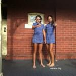 Colegialas australianas